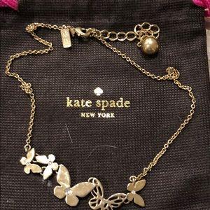 "Kate Spade ""Butterfly"" Necklace"